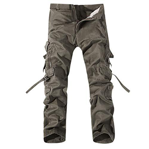 Pantalones Deporte Hombre Gimnasio PantalóN Una Pieza Pantalones...