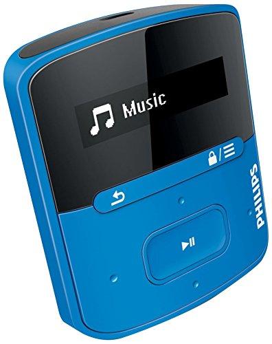 Philips SA4RGA04BF/97 GoGear RaGa 4GB MP3 Player (Blue)