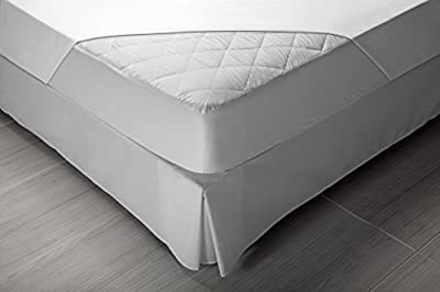 Pikolin Home - Protector de colchón acolchado para cuna, impermeable y transpirable