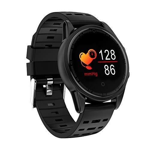 Intelligentes Armband des Farbbildschirms, Herzfrequenzgesundheits-Großbild trägt intelligenten Bluetooth-Armbandblutdruck, intelligente Uhr des Eignungsdetektors für Männer und Frauen zur Schau-b - Training-bewegung Pro Apple