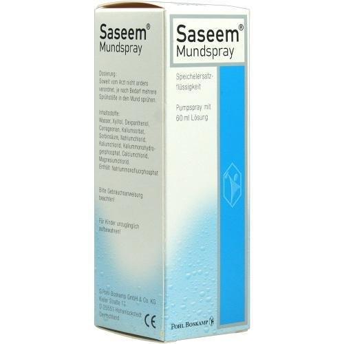 Saseem Mundspray, 60 ml Test