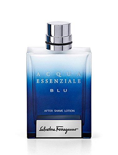 Salvatore Ferragamo Acqua Essenziale Blu homme/men, After Shave-Lotion, 1er Pack (1 x 100 ml)