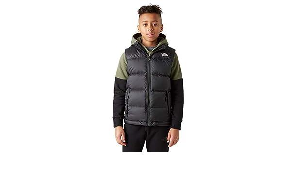 THE NORTH FACE B Nuptse Down Vest Tnf Blk Textured Camo Prt XS (Kids)   Amazon.co.uk  Sports   Outdoors 847212c48
