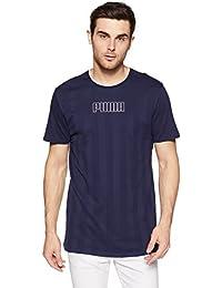 Puma Men's Printed Regular Fit T-Shirt