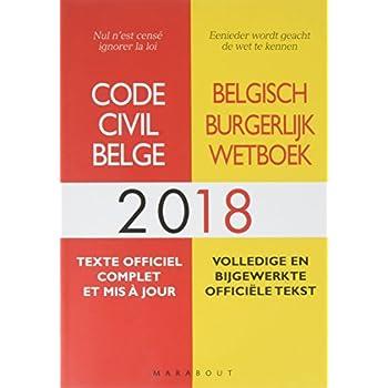 Code civil Belge 2018