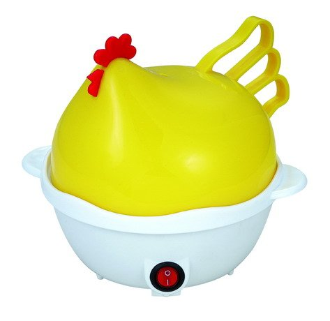 Harjas Kitchen Hen 7 Egg Cooker Boiler Steamer Home Machine Egg Boiler With Egg Tray