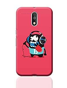 PosterGuy Moto G4 Plus Covers & Cases - Pop Art Crazy Singer Monster   Designed by: Mayank Dhawan