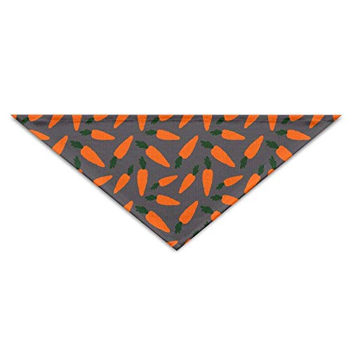 Pet Bandanas Karotte Cute Pattern Dog Bandanas Schals Dreieck Lätzchen Schals Retro Basic Dogs Halstuch Cat Collars - Giant Plaid Shirt