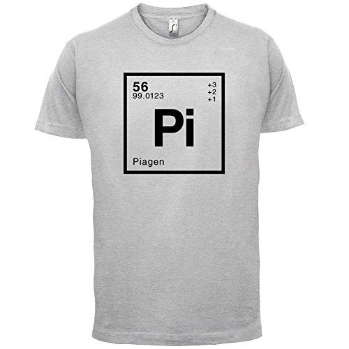 Pia Periodensystem - Herren T-Shirt - 13 Farben Hellgrau