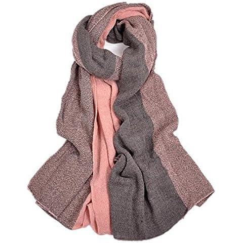 Ladies vintage caldo scialle sciarpa , d