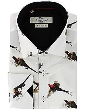 Claudio Lugli - Camisa casual - para hombre