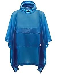 Unisex Original Poncho - Ocean Blue