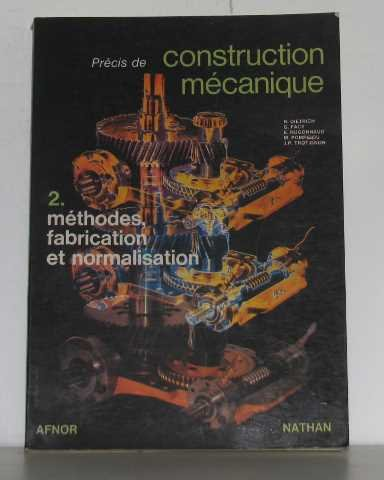 Précis de construction mécanique, tome 2 par Sacquepey