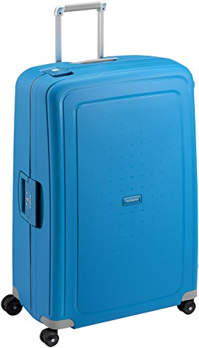 Samsonite S'Cure Spinner 81/30 Koffer, 81cm, 138 L, Pacific Blue