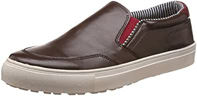 Knotty Derby Men's Alecto Casual Chikoo Sneakers - 6 UK/India (40 EU)