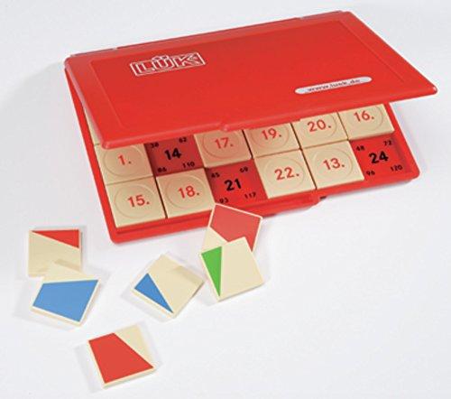 LÜK: Kontrollgerät mit 24 Aufgabenplättchen (Bild kann abweichen) (Spielzeug Mit Bildern)
