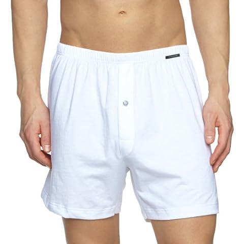 Schiesser Shorts Cotton - Slip - Homme, Blanc, X-Large