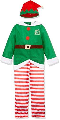 Costume Bambino Elfo aiutante di babbo natale Taglia 140 cm / 8-10 Anni