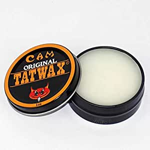 Cam Tattoo Gizmo Tat Wax Tattoo Healing Cream, 1 oz