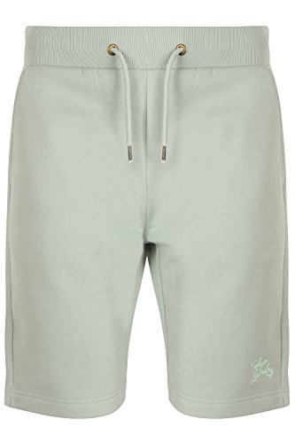 Tokyo Laundry Herren gatonby gesprenkelt Hausanzug Jogger Sweat-Shorts Falcon-Pale Mint - Green