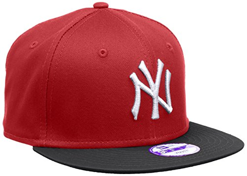 New Era Jungen Baseball Cap Mütze MLB 9 Fifty Block NY Yankees Snapback