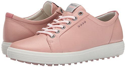 Ecco Womens Casual Hybrid Golf Shoes Silver Pink Size 39 (UK 6)