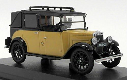Austin Low Loader, dunkelbeige/noire, RHD, Taxi, 0, 0, 0, voiture miniature, Miniature déjà montée, Oxford 1:43 | Moderne  87029e