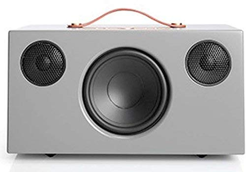 Audio Pro Addon C10 Lautsprecher (80 Watt, Multiroom, Stereo, Airplay, WLAN, Bluetooth, Musik Apps (Spotify, Tidal, Deezer), Tunein Internetradio, App) Grau