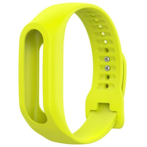 xMxDESiZ Wasserdichtes Uhrenarmband-Armband für Tom Tom Touch Smart Bracelet Limette