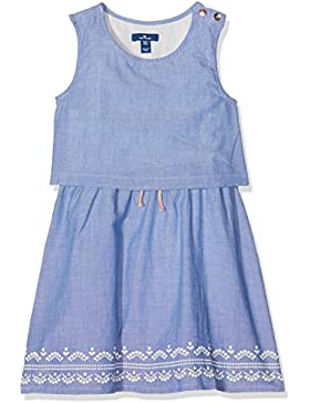 TOM TAILOR Kids Chambray Dress, Vestido para Niños