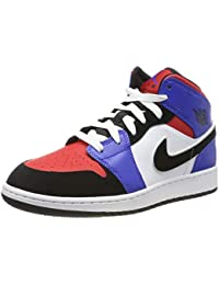 uk availability 07c87 adab7 Jordan 1 Mid GS, Chaussures de Fitness Homme