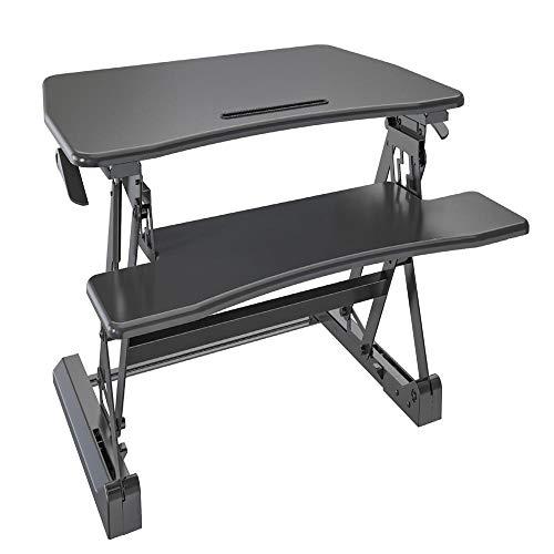 L.Z.Y Höhenverstellbarer Computer- / Laptop-Ständer Ergonomisch Steharbeitsplatz-Hubhöhe Von 15cm bis 49cm für zu Hause oder das Büro