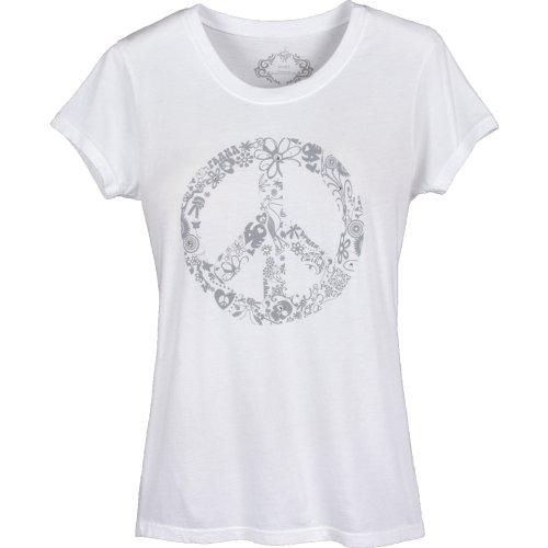 prAna Retro Frauen T-Shirt weiß