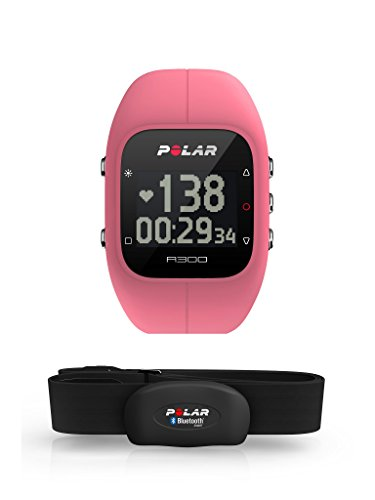 Polar Unisex  A300 Fitness und Activity Tracker mit Pulsmesser , Rosa