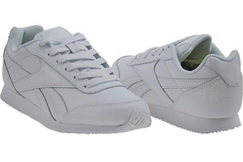 Reebok Royal Cljog 2, Sneaker Basses Mixte Enfant Blanc Cassé (Bianco)