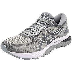 ASICS 1012A156-021 - Zapatillas de Running de competición de Sintético Mujer, Color Gris, Talla 41.5 EU