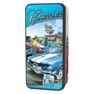MasterPieces Puzzle Company Car Classics Puzzle in Collector Tin Top