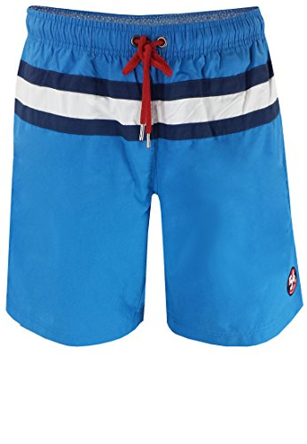 Costume Bermuda Greyes (All Size), in rosso, blu marino e Bleu, XXL-8x l, Blau, 6XL