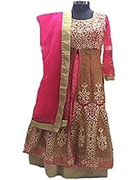 Eid Muslim Hijab Women Dress Ready to Wear Indian Ethnic Party Wear Wedding Ceremony Anarkali Salwar Kameez Suit 8805