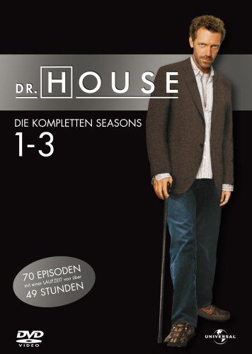 Universal/DVD Dr. House Season Staffel 1-3 [18 DVDs]