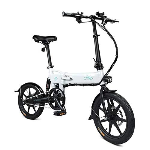 FIIDO D2 Ebike, Faltbares Elektrofahrrad mit LED-Frontleuchte für Erwachsene, 250W 7.8Ah Faltbares Elektrofahrrad mit Fahrradpedalen