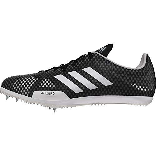 adidas Herren Adizero Ambition 4 Leichtathletikschuhe Schwarz (Negbás/Plamet/Ftwbla 000) 45 1/3 EU