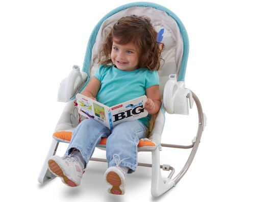 Fisher-Price Modelo BFH06 Hamaca Bebe Rocker electrica - 7