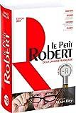Dictionnaire Le Petit Robert de la langue française et sa clé d'accès au dictionnaire numérique