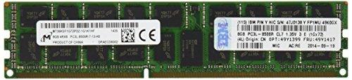 240 Pin Dimm Lp (IBM 49Y1399 PC3-8500 CL7 Arbeitspeicher 8GB (1066MHz, 240-polig DIMM) DDR3-RAM Kit)