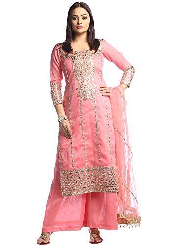 Adhira 1 Gotta Patti Suit (Pink)