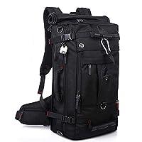 YANWE Hiking Backpack, 50 L Large Waterproof Travel Hiking Camping Outdoor Rucksack With Password Lock