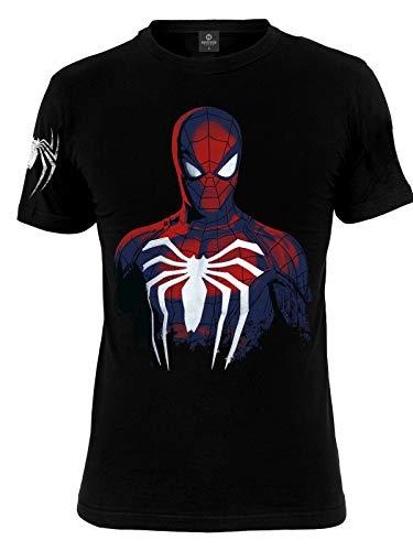 Spider-Man Spider Camiseta Negro XXL