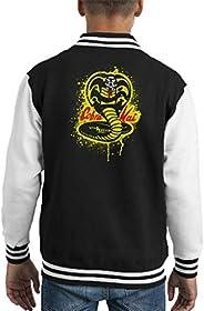 Cloud City 7 Strike First Cobra Kai Snake Logo Kid's Varsity Ja