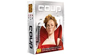 Indie Boards and Cards IBCCOU1 Coup Card Game